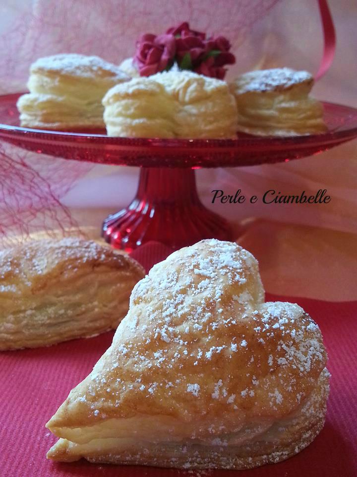 Cuori Di Sfoglia Alla Nutella Di San Valentino Perle E Ciambelle