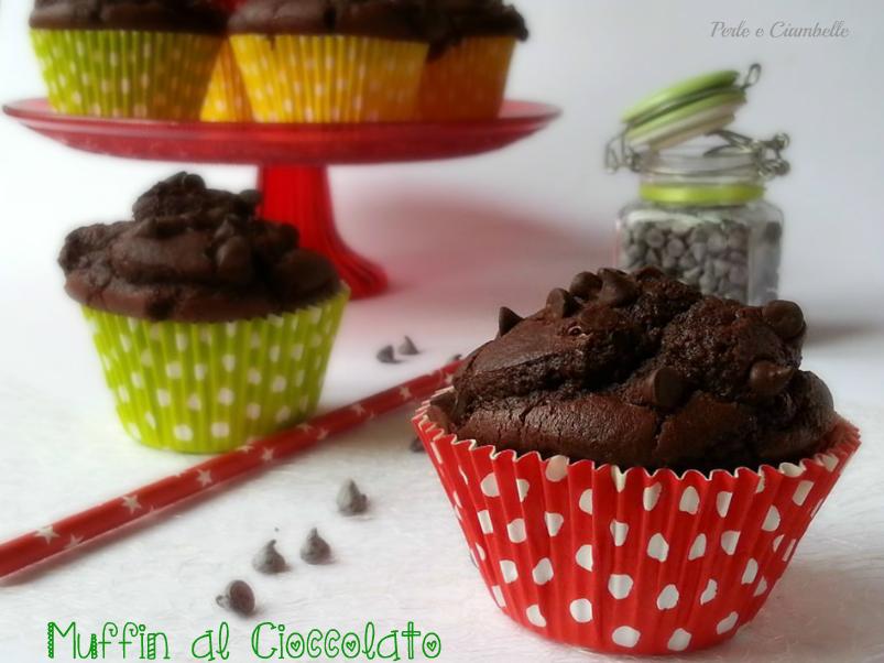 Muffin Al Cioccolato Ricetta Facile Perle E Ciambelle