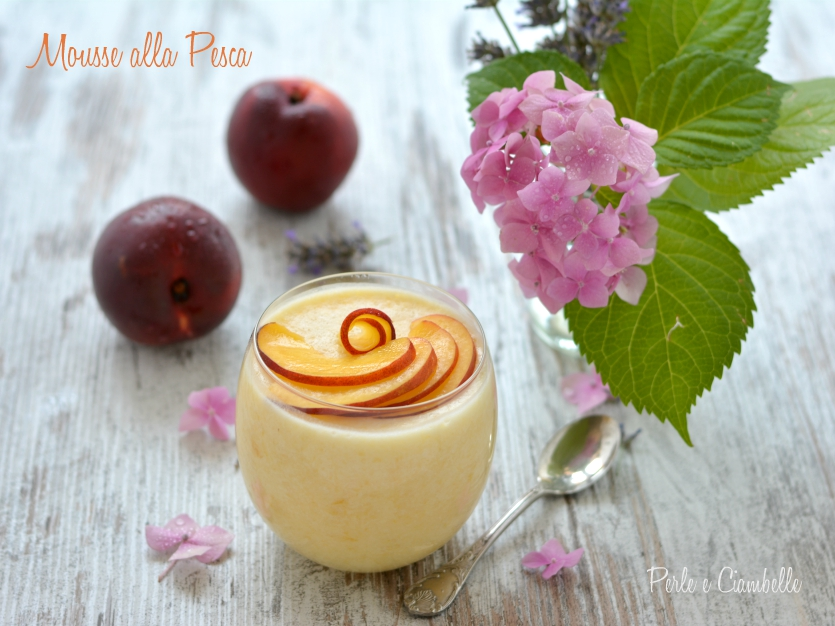 MOUSSE OF PEACH